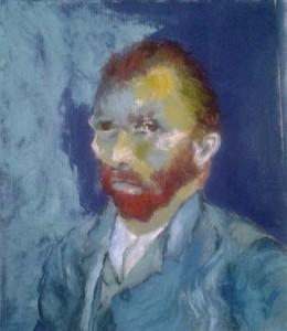 Van Gogh practice piece -oil